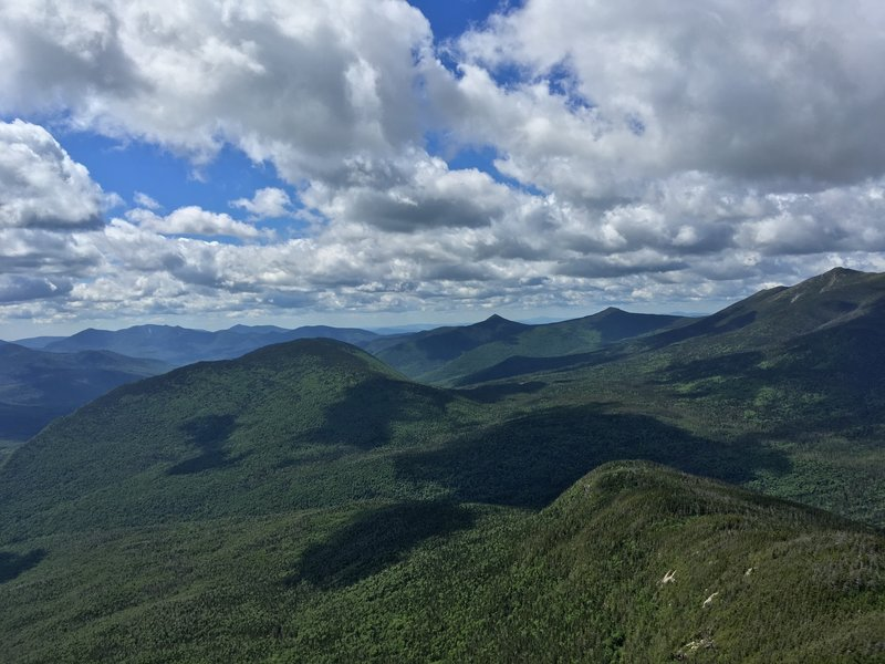 Franconia Ridge is beautiful from Mt. Garfield.