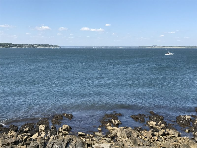 Soak up the great views of the Sakonnet River from Flint Point.