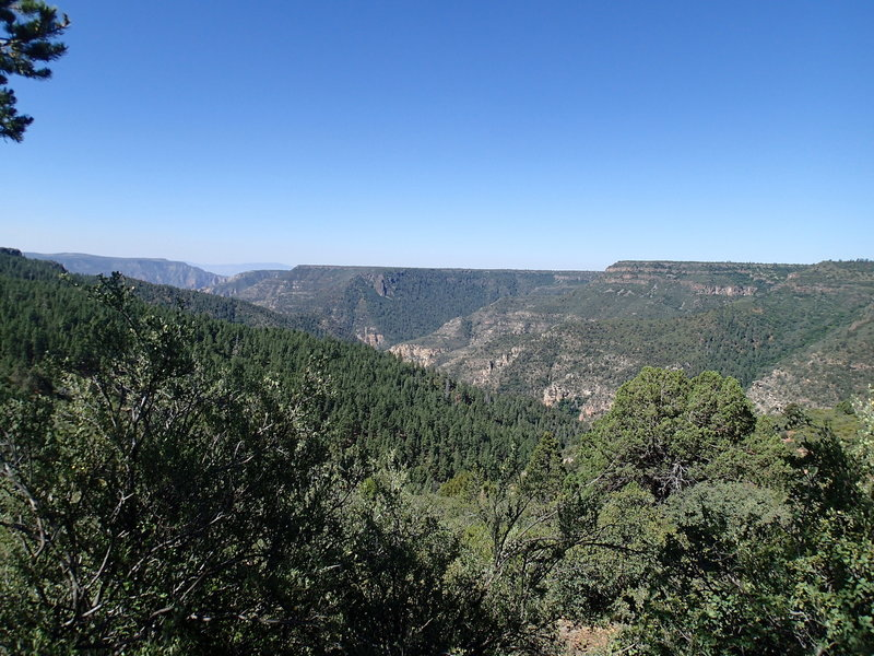 Sycamore Canyon is quite beautiful any time of year.