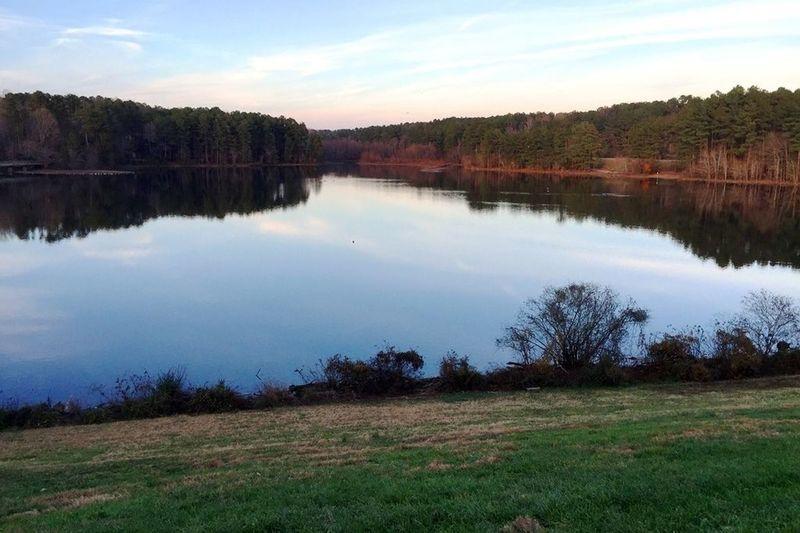 View of Shelley Lake.