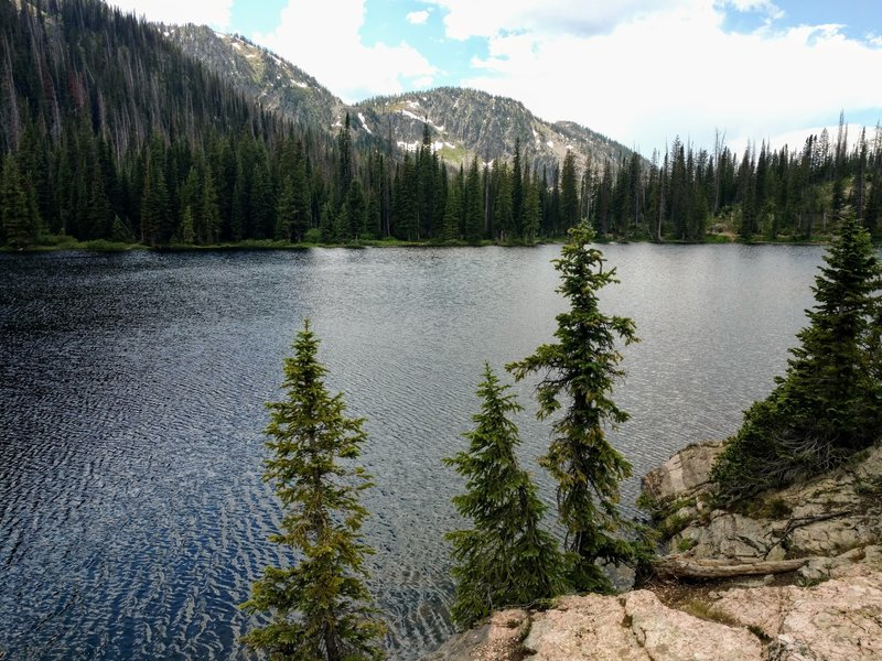 Gold Creek Lake.