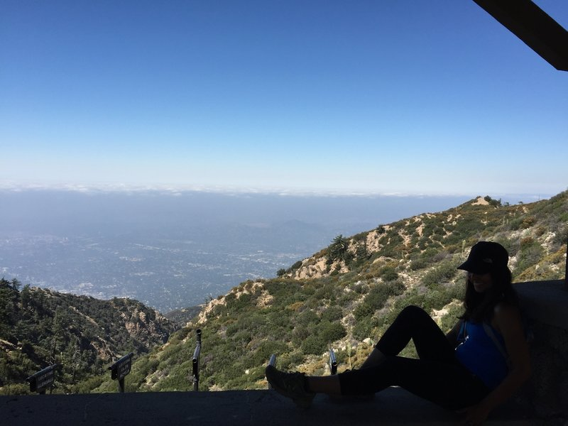 Inspiration Point, Altadena, CA 6 miles up.