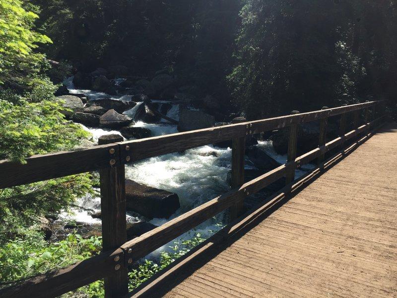 Goose Creek Falls Bridge.