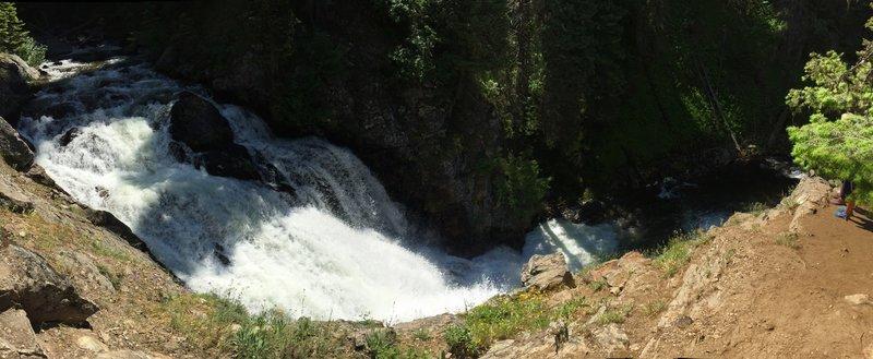 Goose Creek Falls.