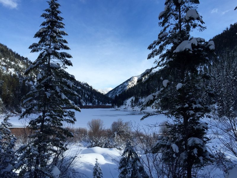 Upper Palisades Lake Hiking Trail, Irwin, Idaho