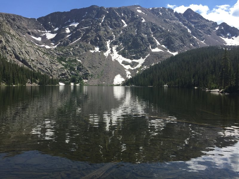Upper Cataract Lake looking south.