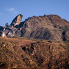 Pico do Itacolomi seen from the plateau.