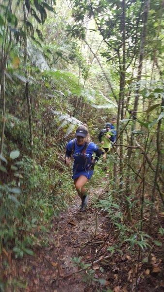 Alternative trail to Itacolomi