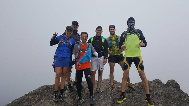 Itacolomi peak summit