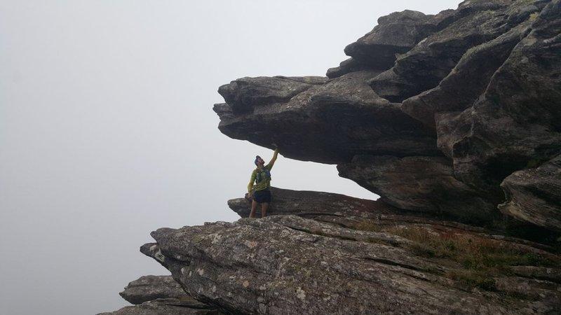 The way to Itacolomi Peak