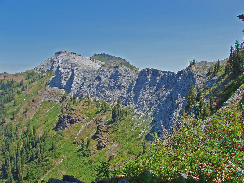 Back side of Marble Mountain from the Rim trail.