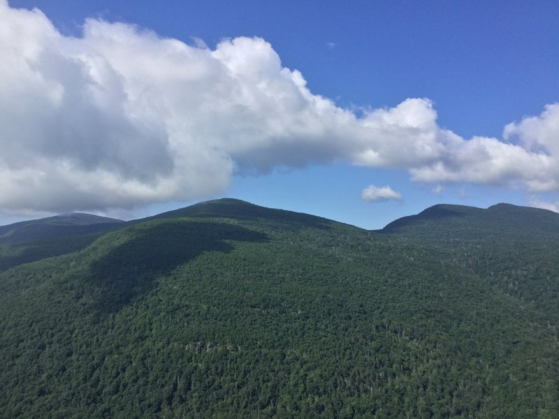 The view from Huckleberry Point.