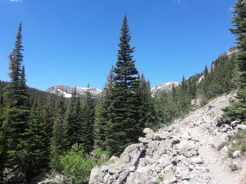 Sawtooth seen from the Buchanan Pass Trail.