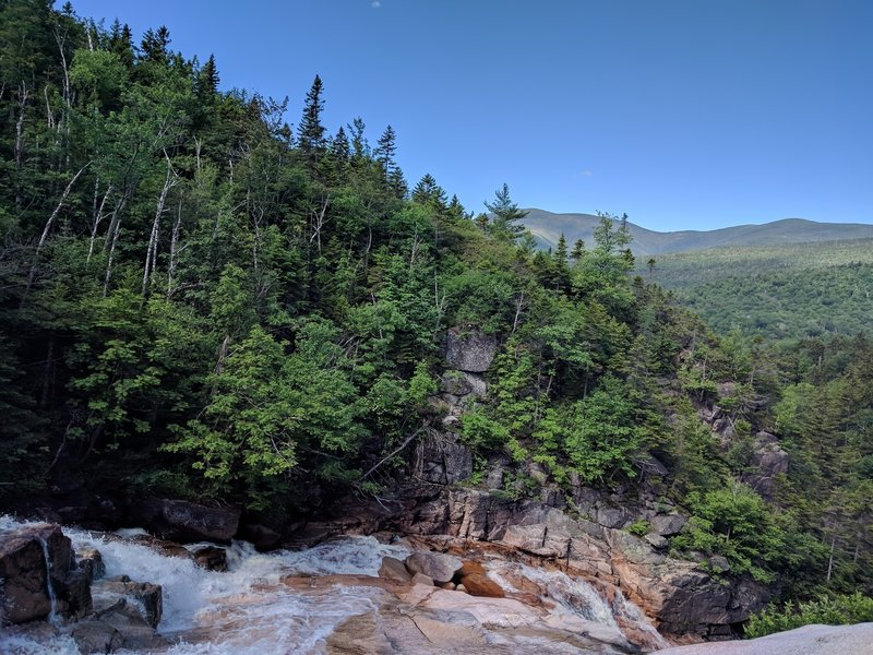 View from above Thoreau Falls