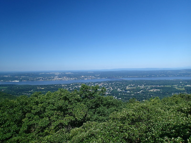 View of Beacon, NY and the Hudson River