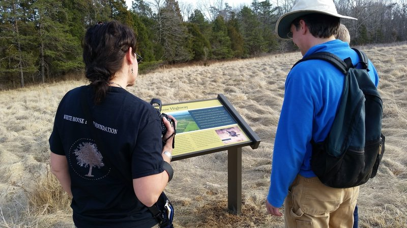 We have 34 interpretive signs throughout the nature preserve. Come learn and explore!