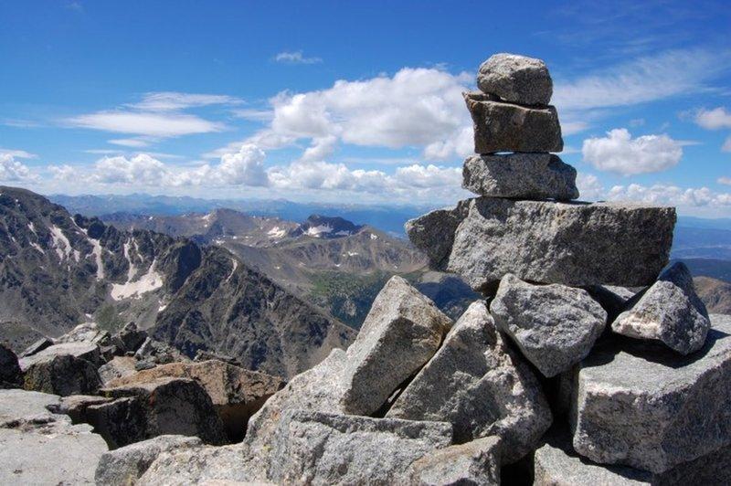 Navajo Peak Summit