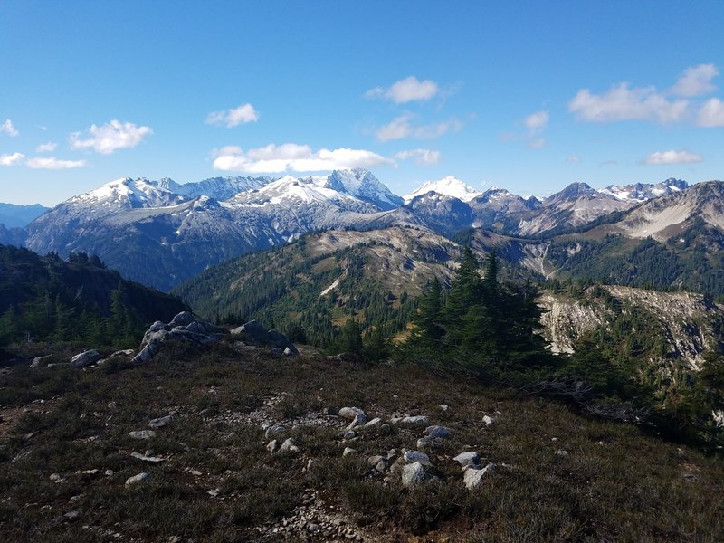 Mountain vista from the Copper Ridge Trail.