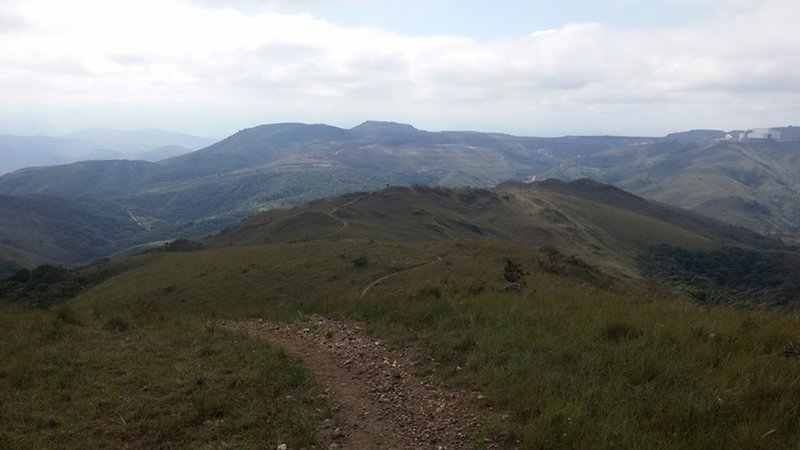Milshake trail views.