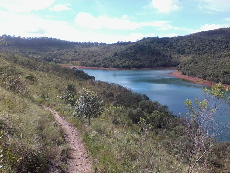 Ingleses Lake close to Peninsula dos Passaros.