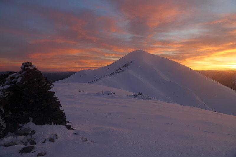 Mount Feathertop.