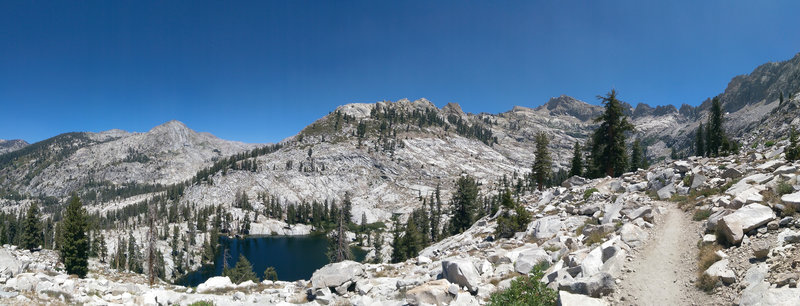 Aster Lake from the Lakes Trail