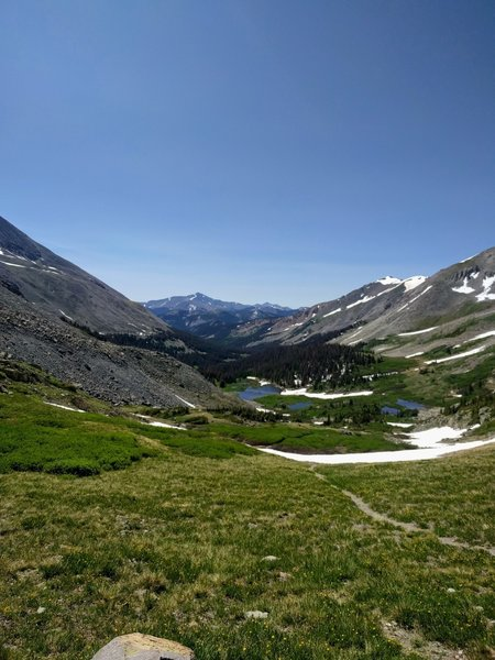 Looking south from Chalk Creek Pass.