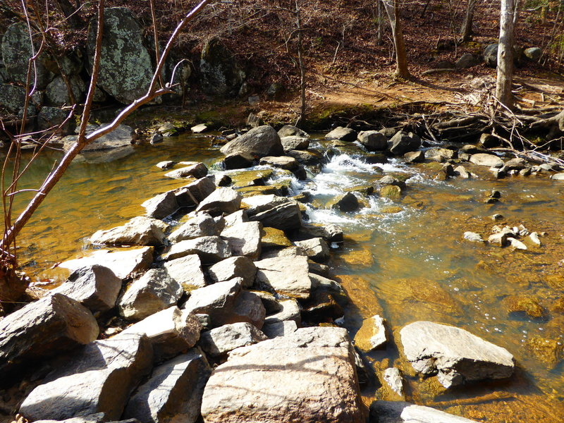 Rock crossing on Moore's Mill Creek