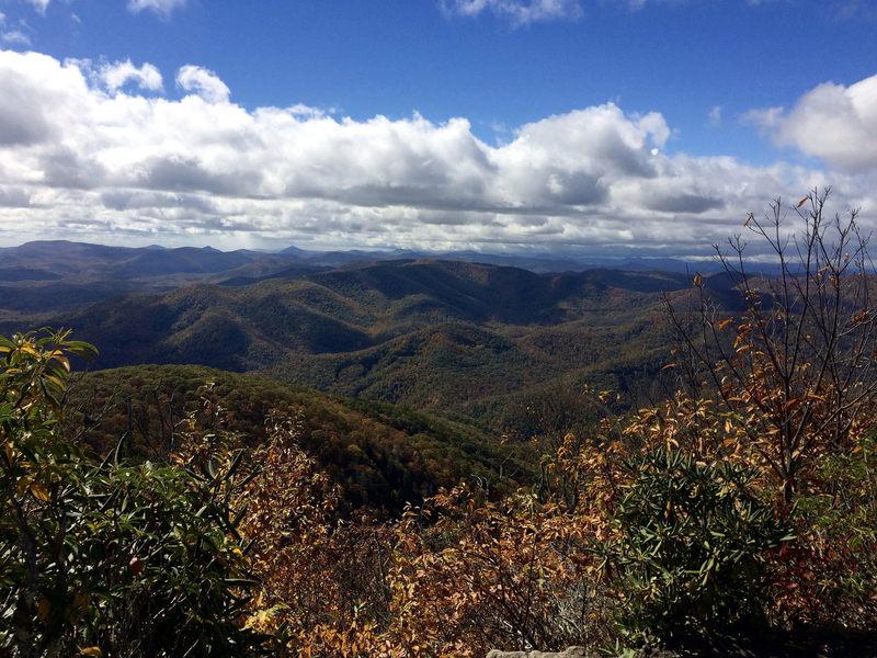 Pilot Mountain on the Art Loeb Trail