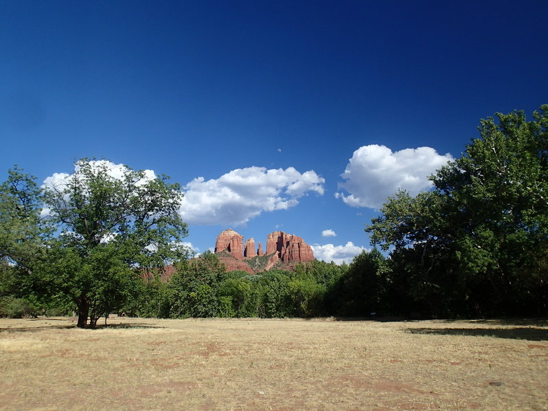 Cathedral Rock from Red Rock Crossing/Crescent Moon Park