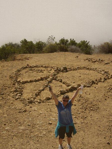 Peace Top along the Saddle Rock Trail.