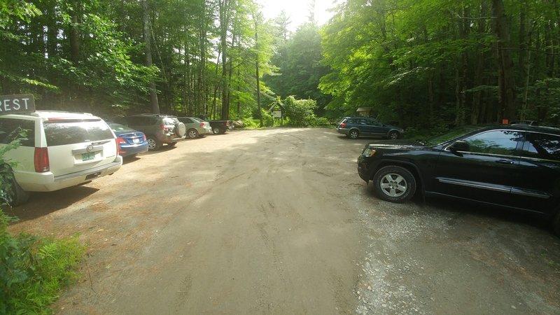 Large parking lot at Madame Sherri's