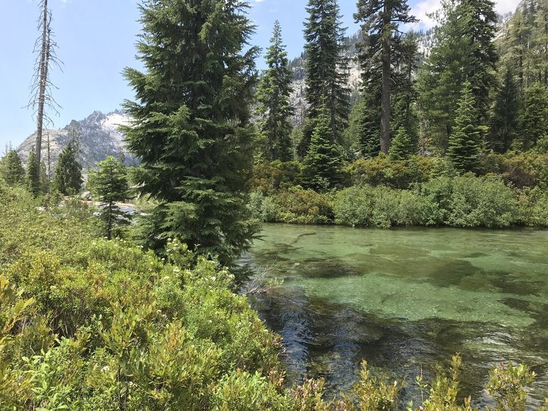 Canyon Creek in Trinity Alps Wilderness