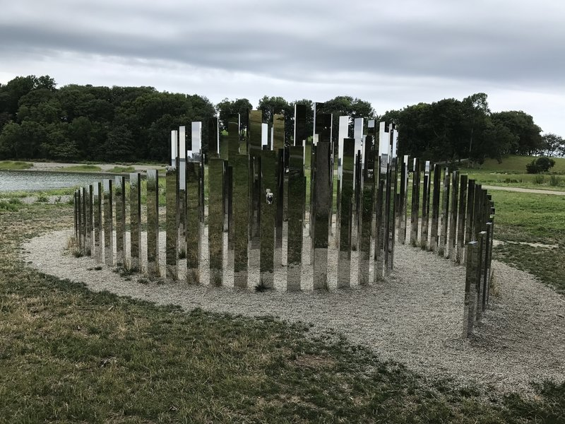Art installation along the World's End Loop