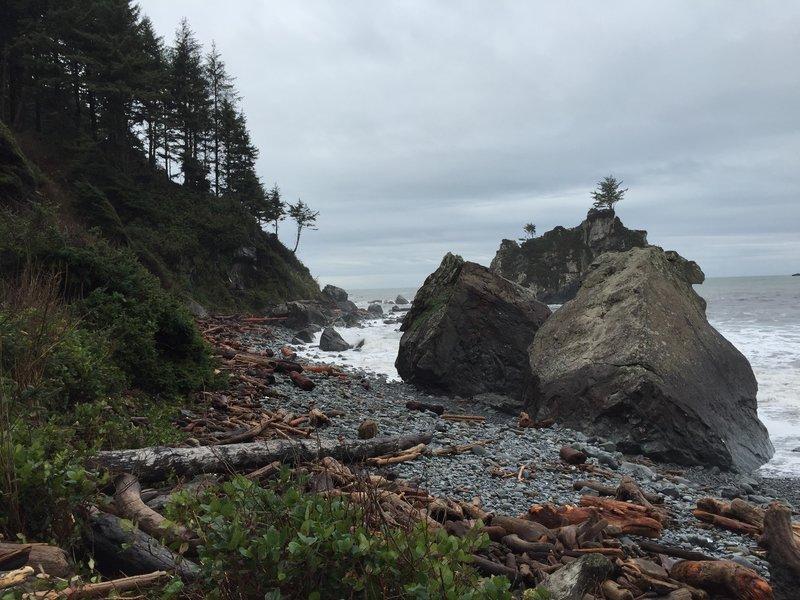 Hidden Beach on Coastal Trail