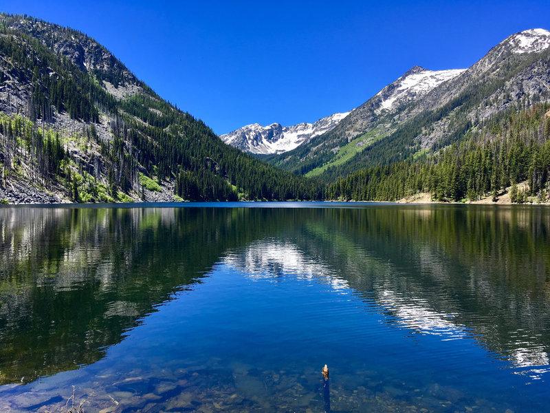 8 Mile Lake, near Leavenworth WA.