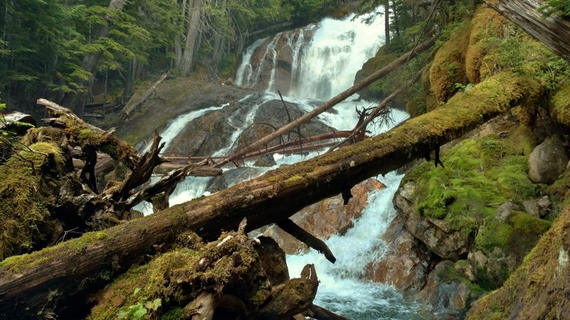 Waterfall at Skagit Queen Camp
