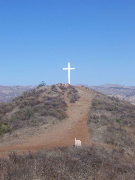 The Cross on Mt. McCoy
