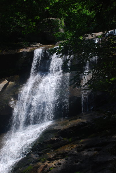 View of Upper Creek Falls from the Lower Loop Trail.