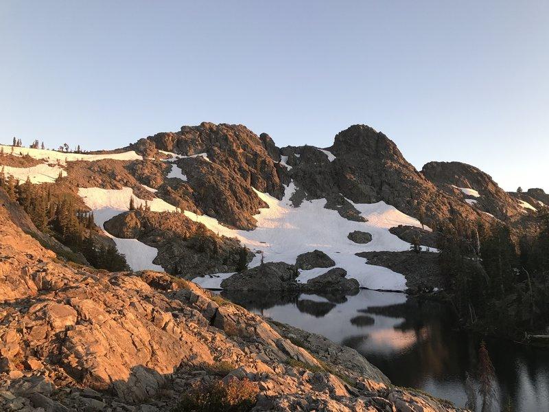 Glacier Lake from NE side