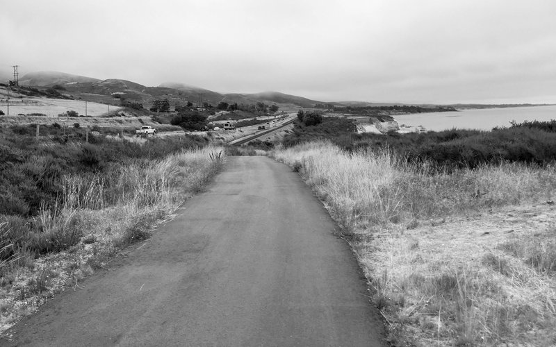 Highway 101, and the Southern Pacific Railroad.