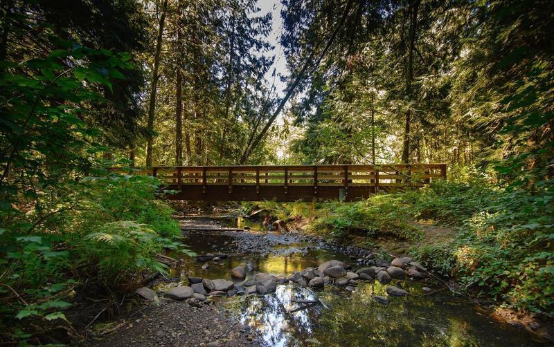 Bridge 3 along Tickle Creek Trail in Sandy.