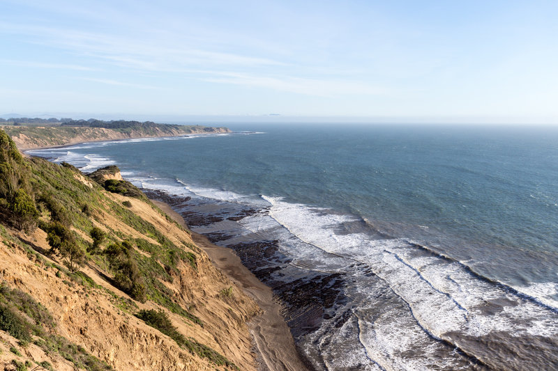 Ocean view from Coast Trail