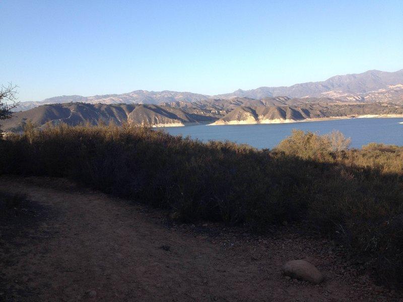 Beautiful views out across Lake Cachuma!