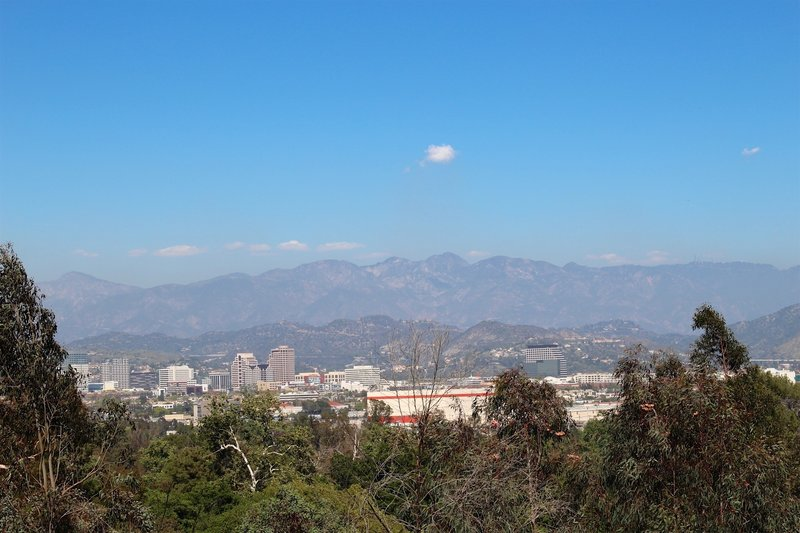 View of Glendale City.