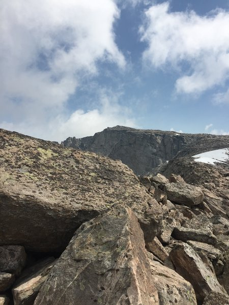 Picture of the top. About 40 minutes to top.
