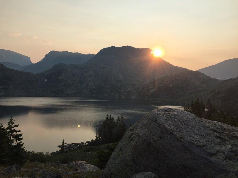 Sunrise at Mistymoon Lake