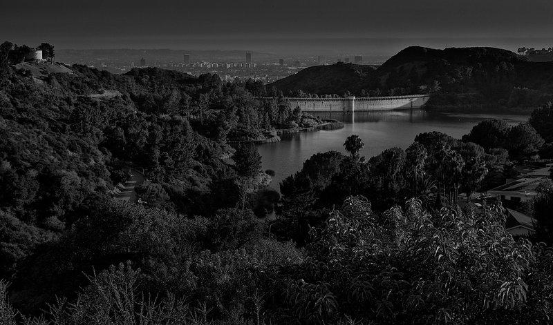 Early evening, Hollywood Reservoir