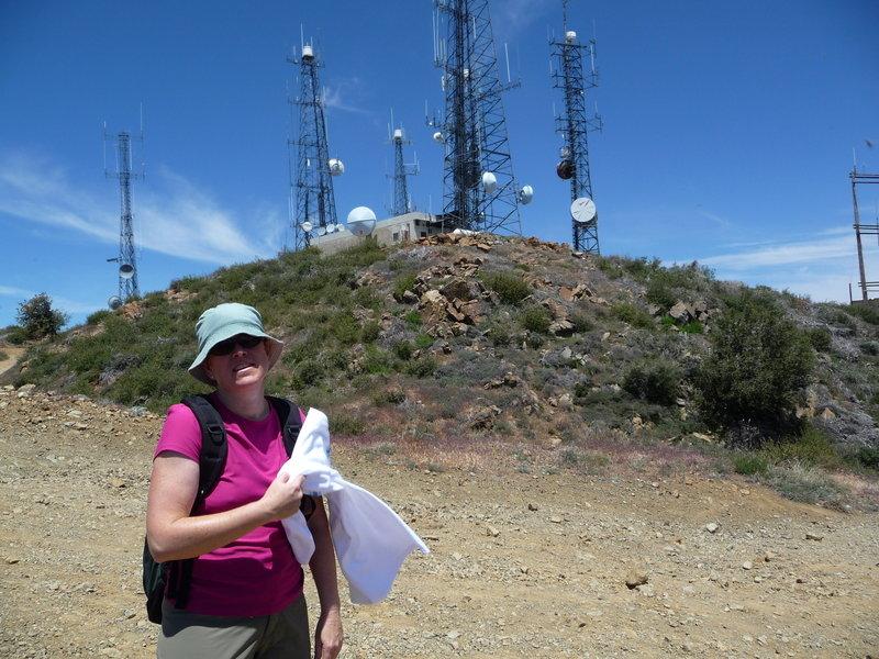 Santiago Peak, Linda, and bugs.