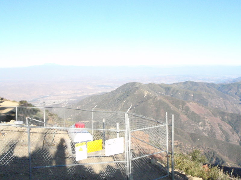 View from Santiago Peak